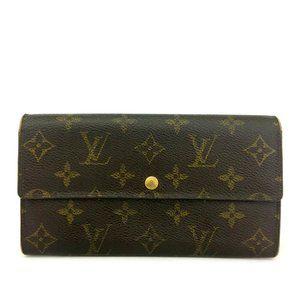 Louis Vuitton Monogram Portefeiulle Sarah Long Bif